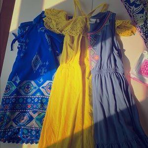 Other - Bundle of 3 girls Dresses